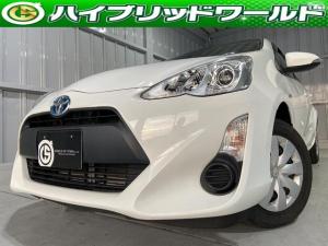 トヨタ アクア L 中期・バックカメラ・ワンセグ・ドラレコ・ETC