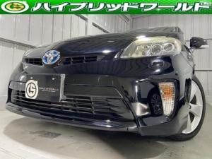 トヨタ プリウス Sツーリングセレクション ワンオーナー車・LEDヘッドライト・ 純正オーディオ・ETC・プッシュスタート