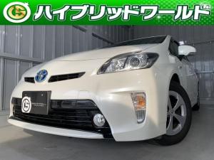 トヨタ プリウス S バックカメラ・フルセグ・Bluetooth対応・ETC・フォグライト・プッシュスタート