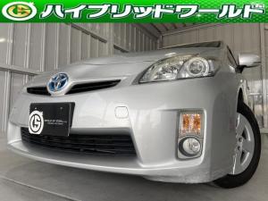 トヨタ プリウス S ナビ・ワンセグ・Bluetooth対応・フォグライト・ビルトインETC