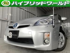トヨタ プリウス S LEDエディション LEDヘッドライト・ビルトインETC・プッシュスタート
