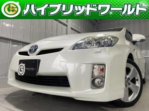 トヨタ プリウス Sツーリングセレクション バックカメラ・ワンセグ・LEDヘッドライト・ビルトインETC・プッシュスタート