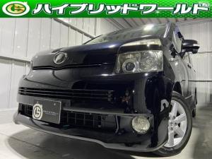 トヨタ ヴォクシー Z 両側パワースライドドア・ビルトインETC・オートエアコン・フォグライト