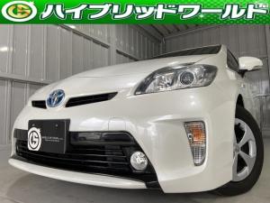 トヨタ プリウス S ナビ・バックカメラ・フルセグ・ビルトインETC・フォグライト・プッシュスタート
