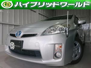 トヨタ プリウス S 純正ナビ・バックカメラ・ワンセグ・フォグライト・プッシュスタート