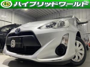 トヨタ アクア L 中期・オーディオ・ビルトインETC