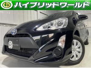 トヨタ アクア L バックカメラ・Bluetooth・ワンセグ・ビルトインETC