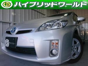 トヨタ プリウス S HDDナビ・バックカメラ・フルセグ・Bluetooth・ビルトインETC・フォグ・プッシュスター路