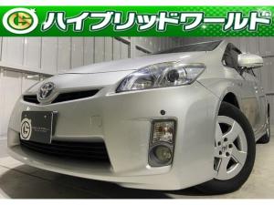 トヨタ プリウス S サンルーフ・HDDナビ・バックカメラ・ワンセグ・フォグ・ETC・プッシュスタート・