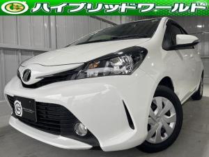 トヨタ ヴィッツ F フォグ・ナビ・Bluetooth・ビルトインETC・プッシュスタート