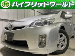 トヨタ プリウス S HDDナビ・バックカメラ・フルセグ・プッシュスタート