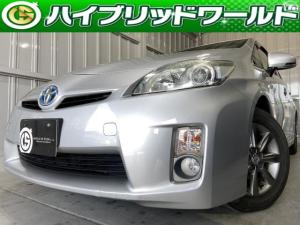 トヨタ プリウス G HDDナビ・バックカメラ・クルコン・ワンセグ・ETC・プッシュスタート