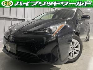 トヨタ プリウス S トヨタセーフティセンス・クルコン・バックカメラ・ナビ・ETC・プッシュスタート