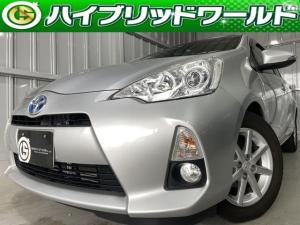 トヨタ アクア G フォグ・バックカメラ・フルセグ・シートヒーター・プッシュスタート