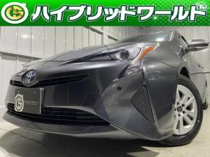 トヨタ プリウス S トヨタセーフティセンス・バックカメラ・クルコン・Bluetooth・オートライト