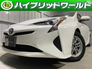 トヨタ プリウス  バックカメラ・トヨタセーフティセンス・クルコン・Bluetooth・オートライト