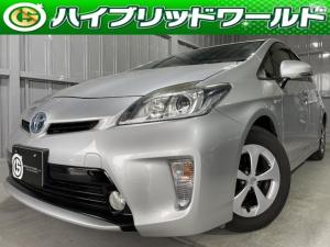 トヨタ プリウス S デジタルインナーミラー・100V電源・バックカメラ・Bluetooth・フルセグ