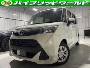 トヨタ タンク X S 衝突安全ブレーキ・片側パワースライドドア・バックカメラ・ETC・