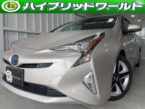 トヨタ プリウス Aプレミアム ツーリングセレクション トヨタセーフティセンス・9インチナビ・パワーシート・Bluetooth・ETC・ナビ・オートっハイビーム・シートヒーター・ステアリングリモコン・17インチホイール
