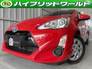 トヨタ アクア S 衝突安全・LDA・フルセグ・ETC・Bluetooth・オートハイビーム