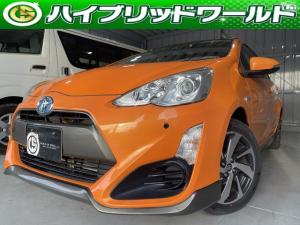 トヨタ アクア X-アーバン トヨタセーフティセンス・衝突安全ブレーキ・Bluetooth・ETC・ワンセグ・ナビ・バックカメラ