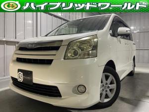 トヨタ ノア S 両側電動スライドドア・フリップダウンモニター・ワンセグ・ETC・ナビ・HID