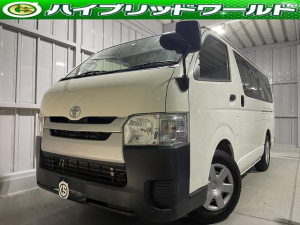 トヨタ ハイエースバン ロングDX ナビ・ビルトインETC・CD