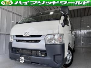 トヨタ ハイエースバン ロングDX ETC・ナビ・オーディオ・CD