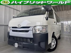 トヨタ ハイエースバン ロングDX ナビ・ビルトインETC・CD・オーディオ