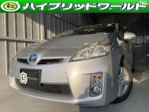 トヨタ プリウス S バックカメラ・ビルトインETC・ドライブレコーダー・フルセグ・Bluetooth