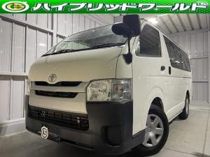 トヨタ ハイエースバン ロングDX ナビ・ビルトインETC・CD・エアコン