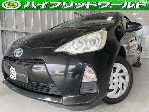 トヨタ アクア S フルセグ・前席パワーウィンドウ・LEDヘッドライト・ETC