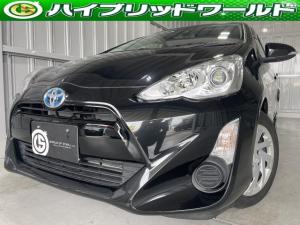トヨタ アクア S バックカメラ・ナビ・フルセグ・ETC・Bluetooth・プッシュスタート・全席パワーウィンドウ・ドライブレコーダー・ステアリングリモコン