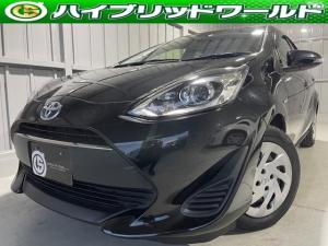 トヨタ アクア S トヨタセーフティセンス・衝突安全ブレーキ・ナビ・Bluetooth・バックカメラ・ステアリングリモコン・オートハイビーム・オートヘッドライト