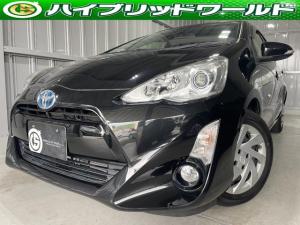 トヨタ アクア S バックカメラ・オートヘッドライト・ビルトインETC・プッシュスタート・全席パワーウィンドウ・オートエアコン