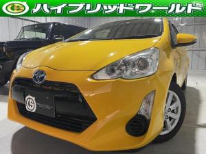 トヨタ アクア S トヨタセーフティセンス・衝突安全ブレーキ・フルセグ・ナビ・バックカメラ・Bluetooth・ETC・オートハイビーム・オートヘッドライト・オートエアコン・プッシュスタート