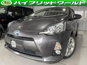トヨタ アクア G フルセグ・Bluetooth・LEDヘッドライト・ETC・オートエアコン・全席パワーウィンドウ・走行モード切替