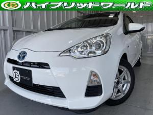 トヨタ アクア G テレビ・ナビ・プッシュスタート・ドライブレコーダー・全席パワーウィンドウ