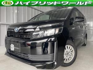 トヨタ ヴォクシー  両側電動スライドドア・バックカメラ・Bluetooth・ビルトインETC・テレビ・デュアルエアコン・HIDヘッドライト・ステアリングリモコン・オートヘッドライト