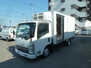 いすゞ エルフトラック 2t全低床ロング低温冷蔵冷凍車 リースアップ車