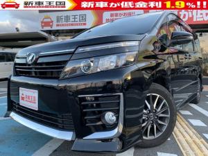 トヨタ ヴォクシー ZS アルパインBIGXナビ・片側電動両側スライドドア・ビルトインETC・LEDヘッドライト・電動格納ミラー・オートエアコン・純正16インチアルミホイール