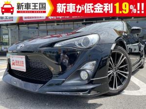 トヨタ 86 GT モデリスタエアロ・ブリッツ製タワーバー・GTウィング・純正ETC・カロッツェリア製7型ナビ・バックカメラ・