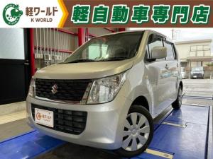 スズキ ワゴンR FX 純正オーディオ・シートヒーター・アイドリングストップ・フルフラット