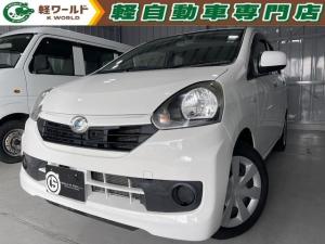 ダイハツ ミライース L SA 衝突安全ブレーキ・ドライブレコーダー・オーディオ・CD