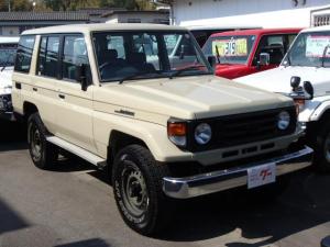 トヨタ ランドクルーザー70 LXロング 4WD エアコン ETC