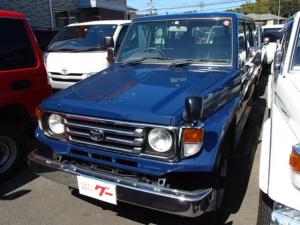 トヨタ ランドクルーザー70 LX 4WD ディーゼル 4速オートマ