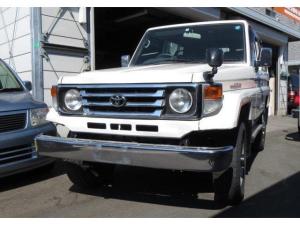 トヨタ ランドクルーザー70 LX ディーゼル 4WD メタル エアコン パワステ