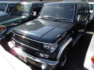 トヨタ ランドクルーザープラド SXワイド 4WD サンルーフ 8人乗り デフロック CD シートカバー
