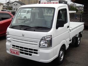 スズキ キャリイトラック KCエアコン・パワステ パワステ エアコン マニュアル車