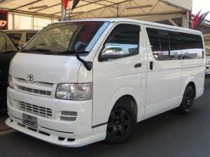 トヨタ ハイエースバン ロングDX パワステ エアコン ABS ターボ